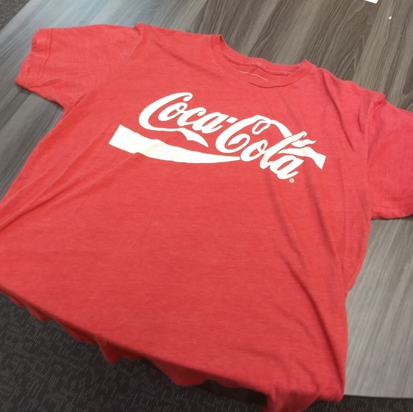 Coca-Cola T-Shirt Tee Classic Red White Logo Size 3XL 3X-Large